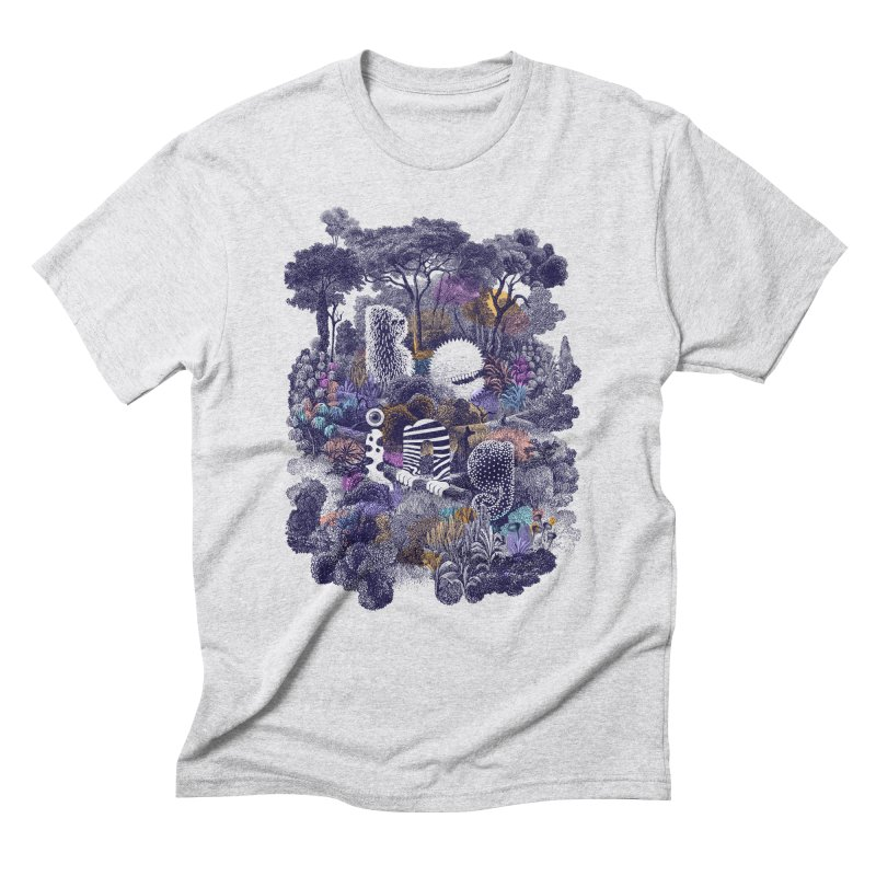 Biodiverse 2 Men's Triblend T-shirt by SocialFabrica Artist Shop