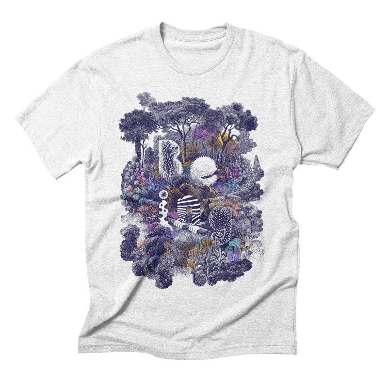 Biodiverse 2 Men's Triblend T-shirt by SocialFabrica Artist Shop