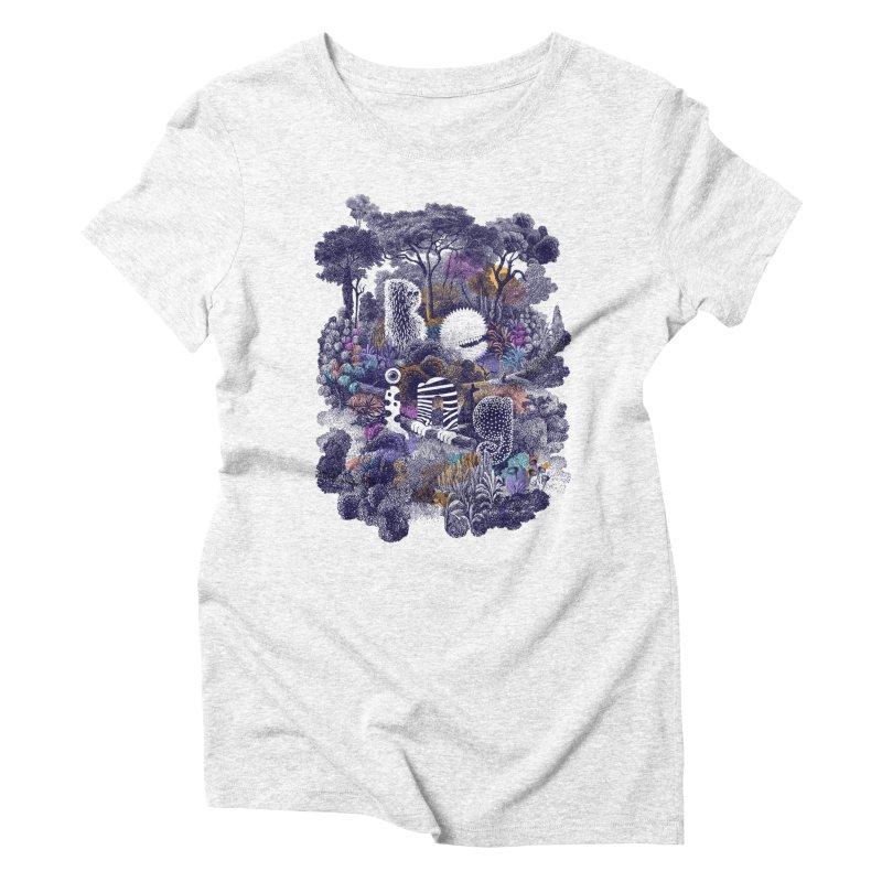 Biodiverse 2 Women's Triblend T-shirt by SocialFabrica Artist Shop