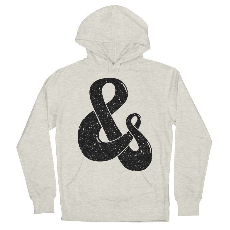 Ampersand Then Some Men's Pullover Hoody by SocialFabrica Artist Shop
