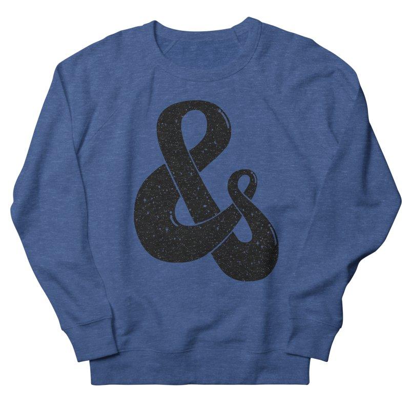 Ampersand Then Some Men's Sweatshirt by SocialFabrica Artist Shop