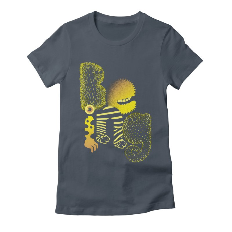 Being Women's Fitted T-Shirt by SocialFabrica Artist Shop