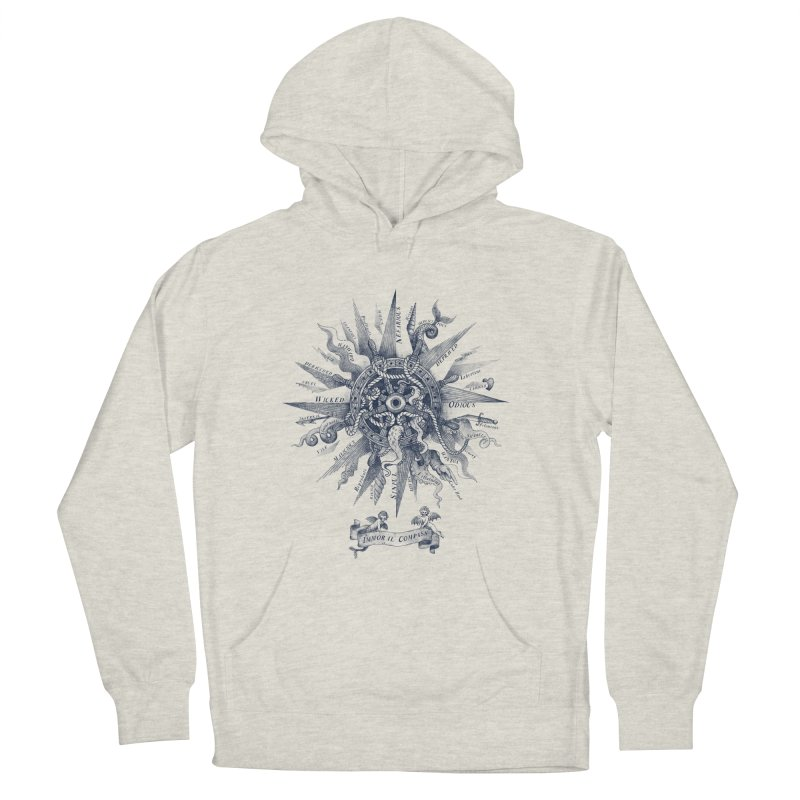 Immoral Compass Men's Pullover Hoody by SocialFabrica Artist Shop