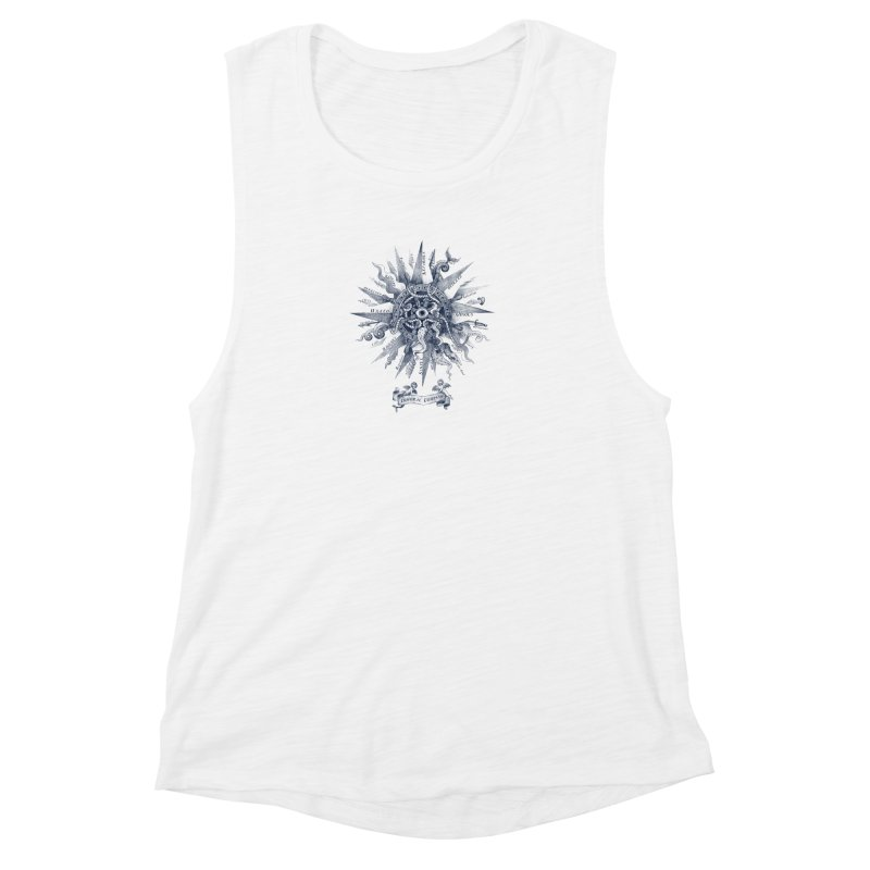Immoral Compass Women's Muscle Tank by SocialFabrica Artist Shop