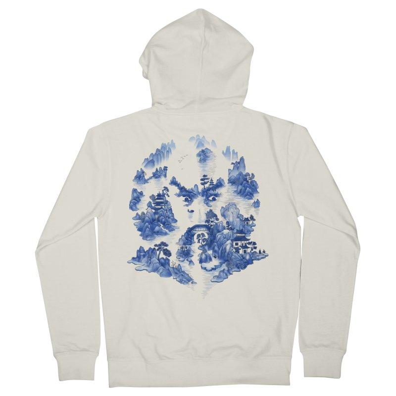 Merciless Ming Men's Zip-Up Hoody by SocialFabrica Artist Shop