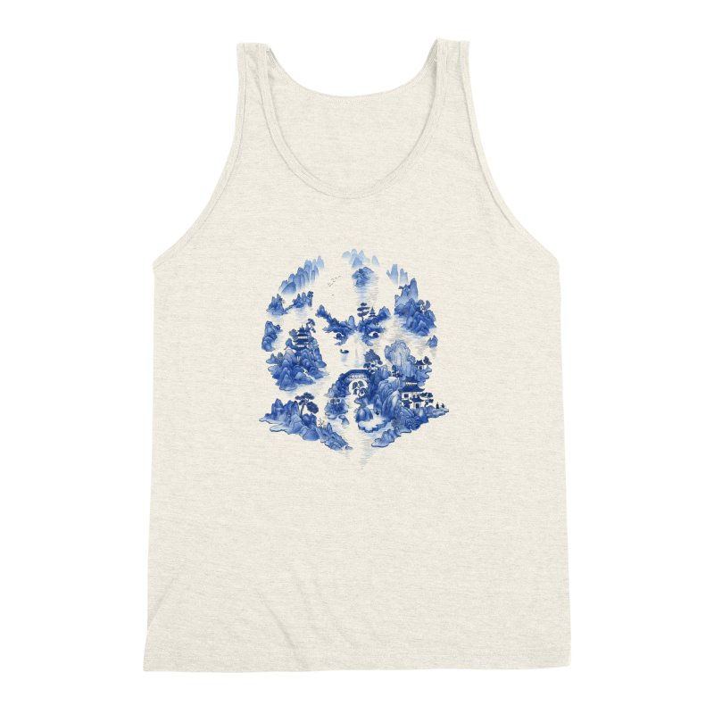 Merciless Ming Men's Triblend Tank by SocialFabrica Artist Shop