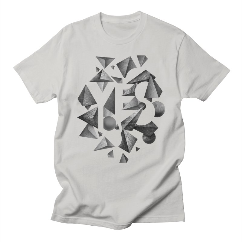 Non Negative Space Men's T-shirt by SocialFabrica Artist Shop