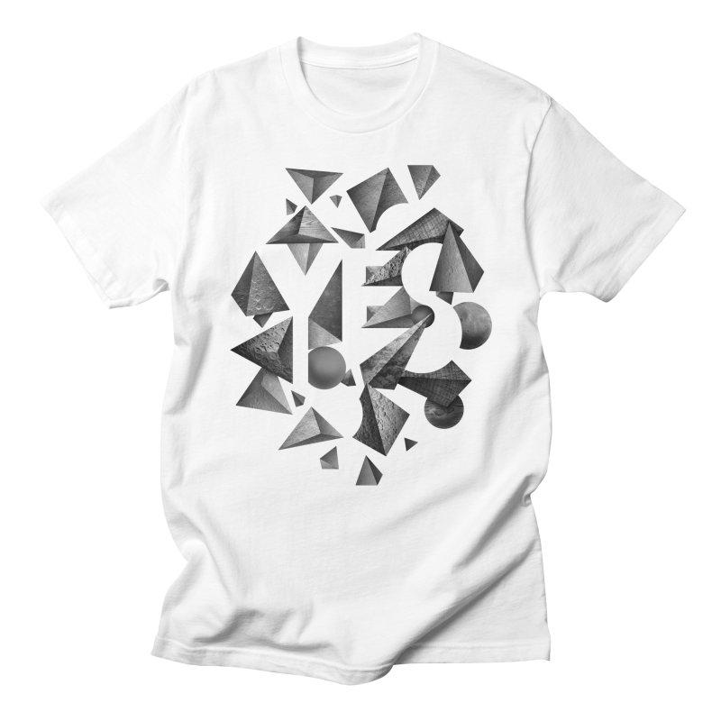 Non Negative Space Men's T-shirt by SocialFabrica Artist Shop