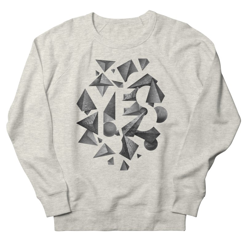 Non Negative Space Men's Sweatshirt by SocialFabrica Artist Shop