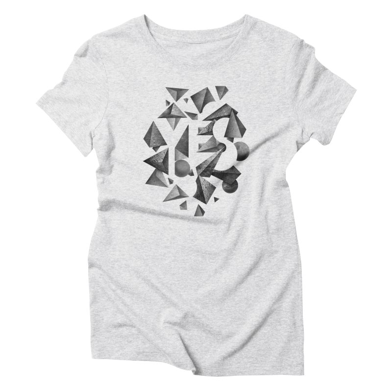 Non Negative Space Women's Triblend T-Shirt by SocialFabrica Artist Shop