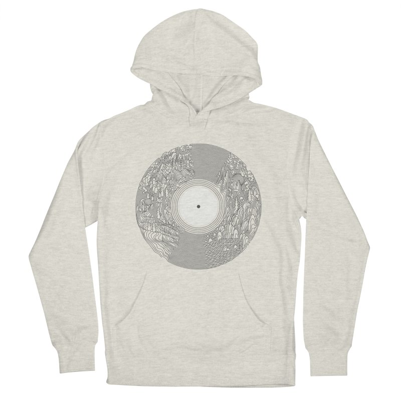 Soundscape Men's Pullover Hoody by SocialFabrica Artist Shop