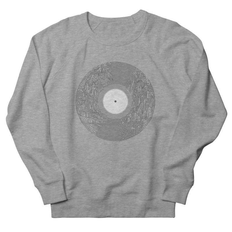 Soundscape Men's Sweatshirt by SocialFabrica Artist Shop