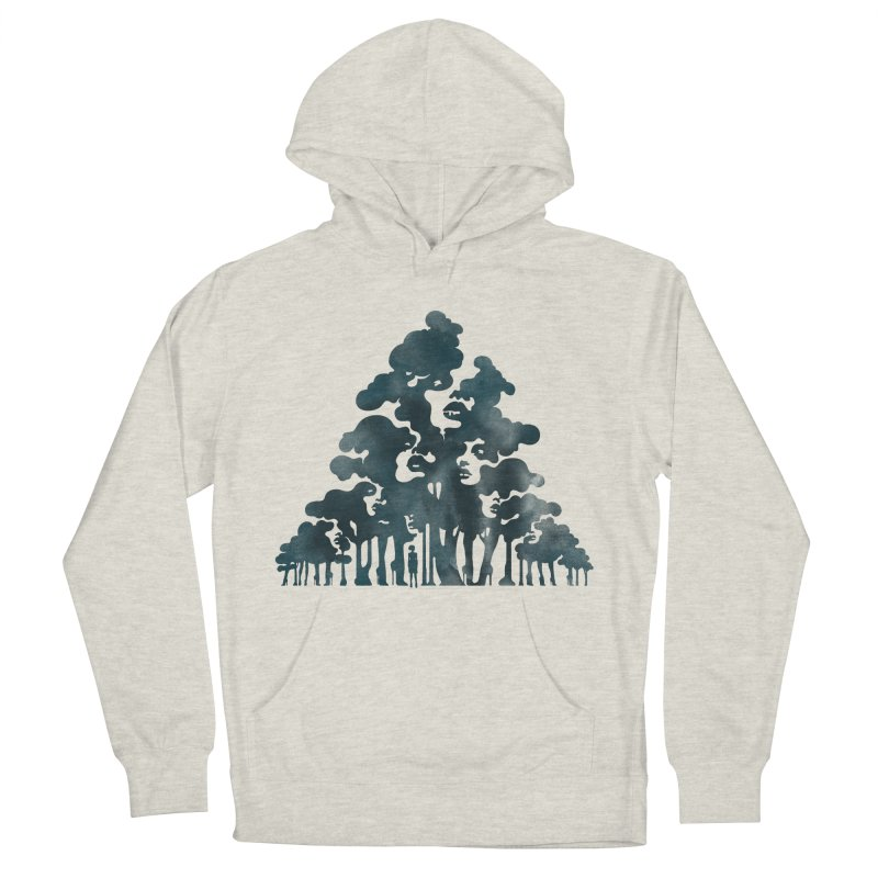 Wood for the Trees Men's Pullover Hoody by SocialFabrica Artist Shop