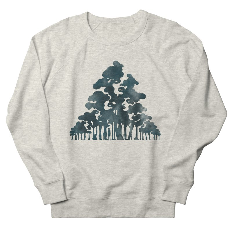 Wood for the Trees Women's Sweatshirt by SocialFabrica Artist Shop
