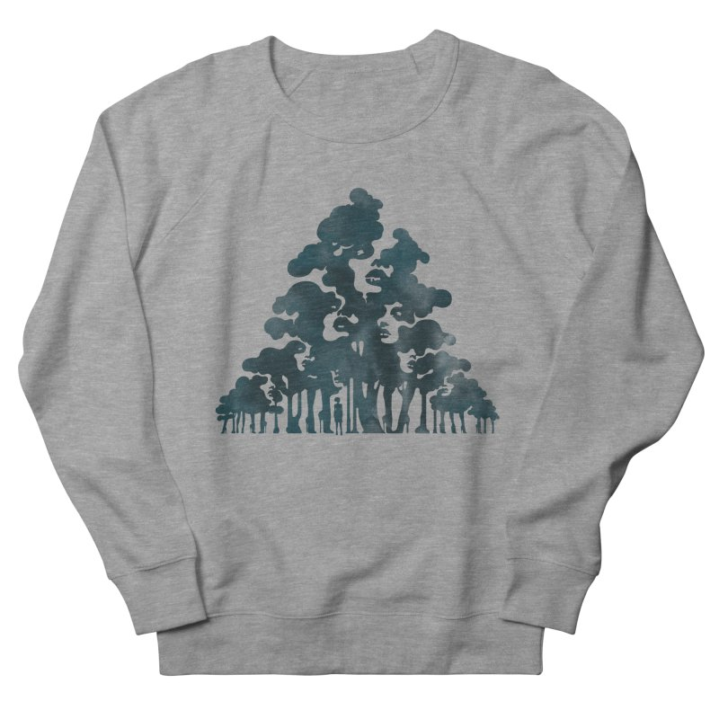 Wood for the Trees Men's Sweatshirt by SocialFabrica Artist Shop