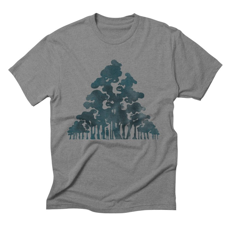 Wood for the Trees Men's Triblend T-Shirt by SocialFabrica Artist Shop