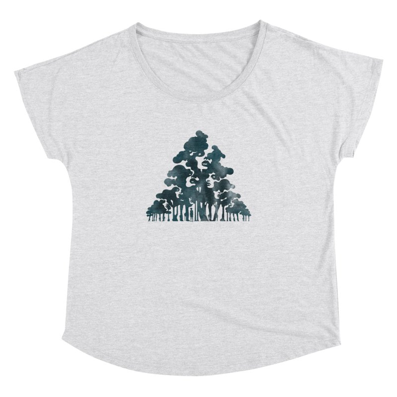 Wood for the Trees Women's Dolman by SocialFabrica Artist Shop