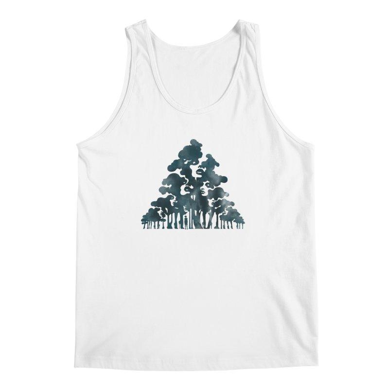 Wood for the Trees Men's Tank by SocialFabrica Artist Shop