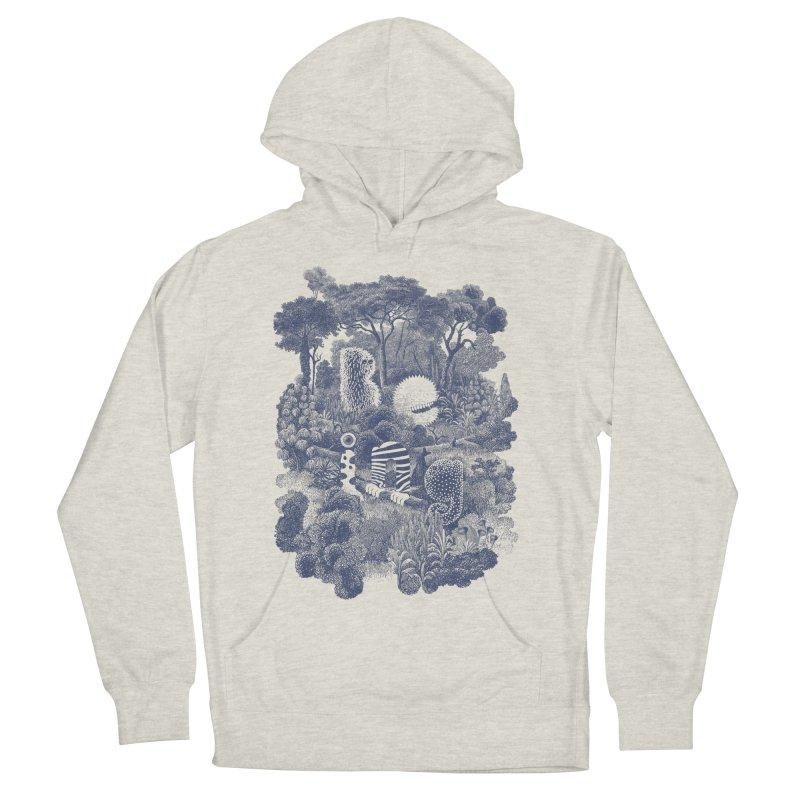 Biodiverse - monotone Men's Pullover Hoody by SocialFabrica Artist Shop