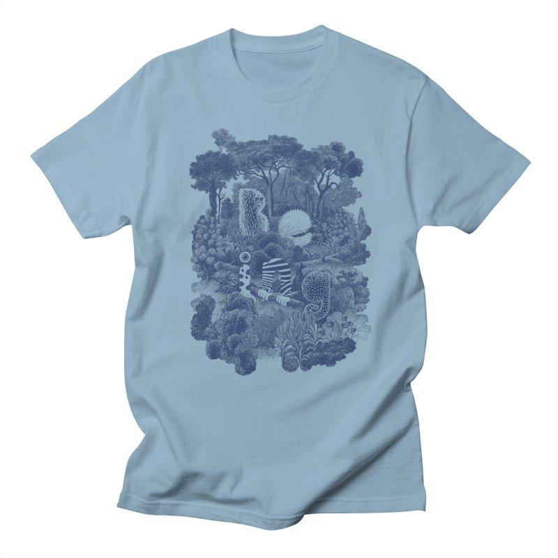 Biodiverse - monotone Men's T-Shirt by SocialFabrica Artist Shop