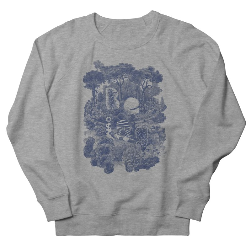 Biodiverse - monotone Women's Sweatshirt by SocialFabrica Artist Shop