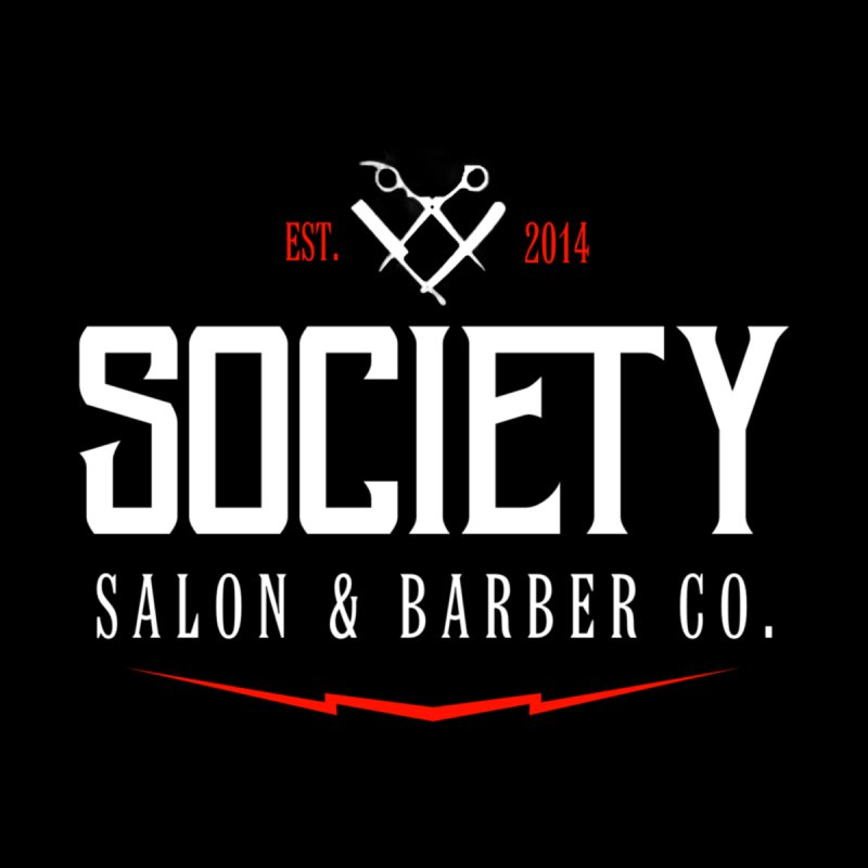 Society Men's T-Shirt by Society Salon & Barber Co.