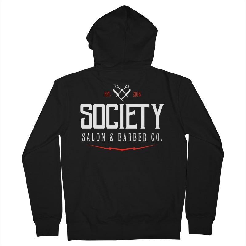 Society Men's Zip-Up Hoody by Society Salon & Barber Co.