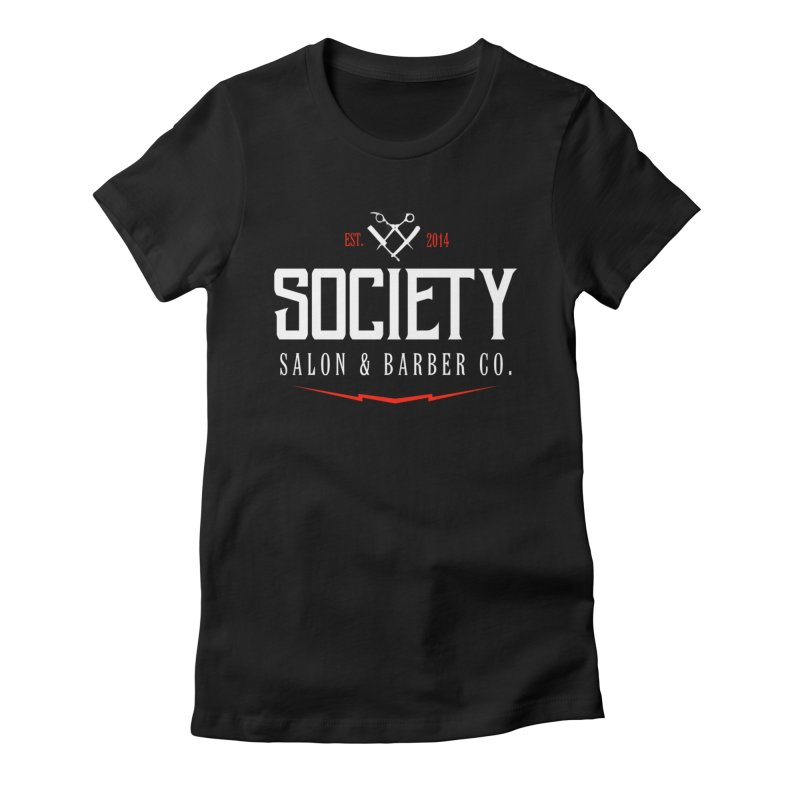 Society Women's T-Shirt by Society Salon & Barber Co.
