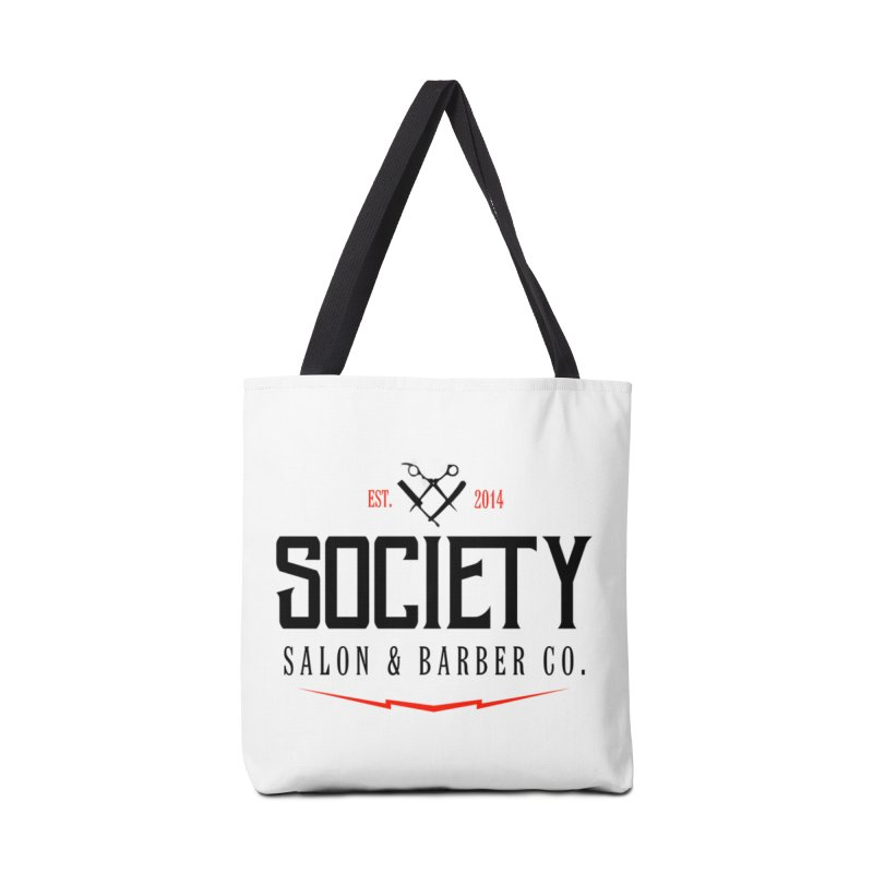 Society (black) Accessories Bag by Society Salon & Barber Co.