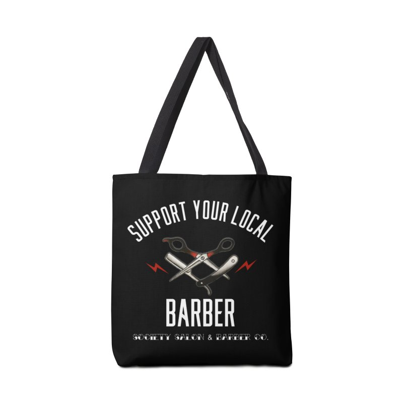 Support Your Local Barber Accessories Bag by Society Salon & Barber Co.