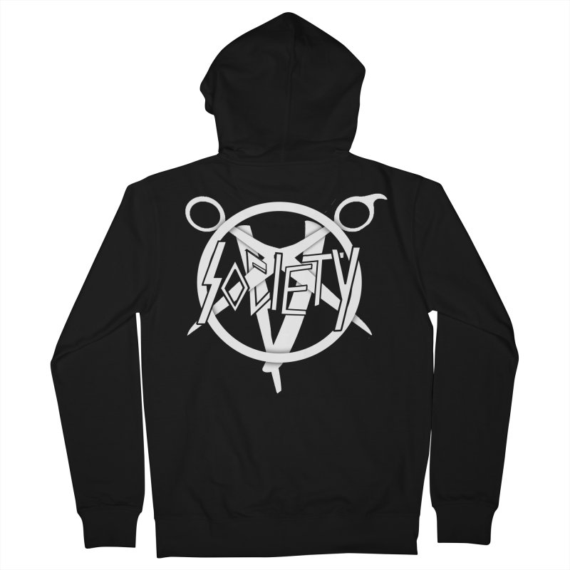 Slay Scissor Women's Zip-Up Hoody by Society Salon & Barber Co.