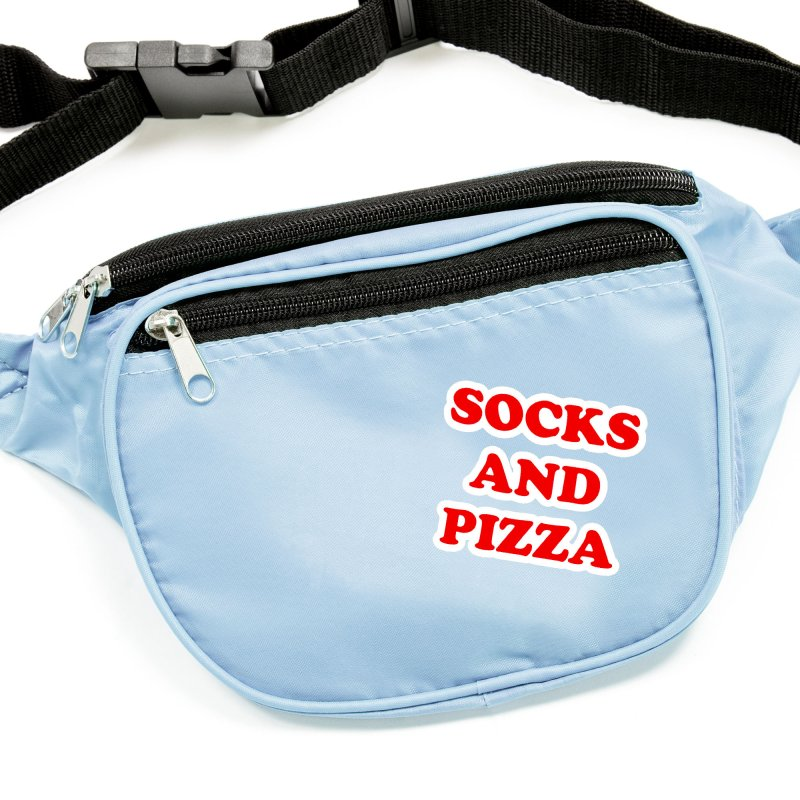 SOCKS AND PIZZA LOGO RED Accessories Sticker by SOCKS AND PIZZA MAG