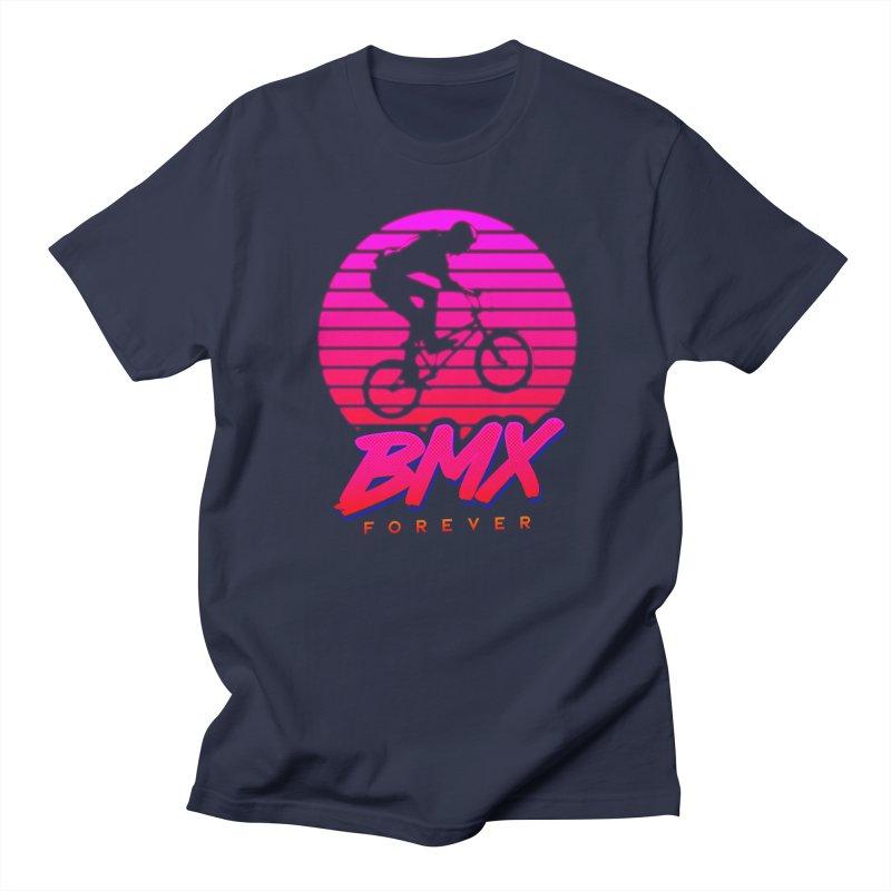 BMX forever Men's Regular T-Shirt by SOE