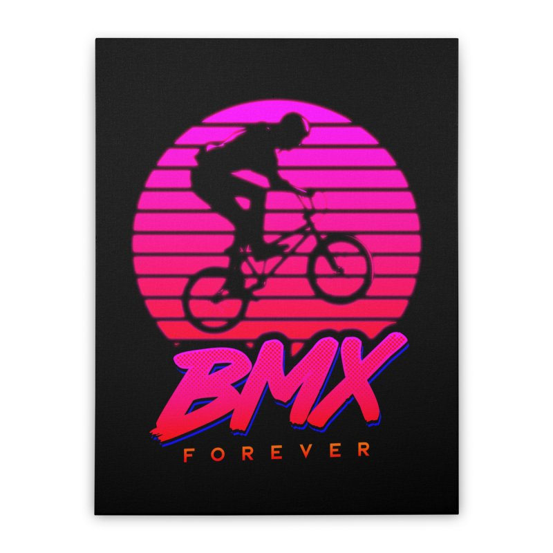 BMX forever Home Stretched Canvas by SOE