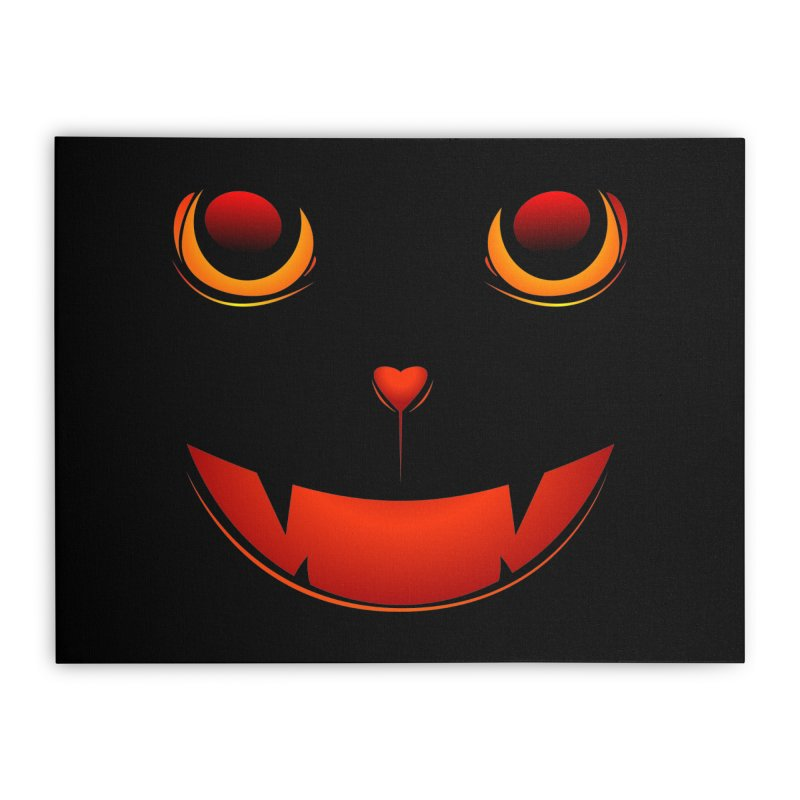 moster pumpkin Spice eater Home Stretched Canvas by SOE
