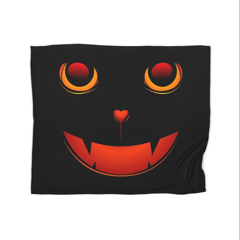 moster pumpkin Spice eater Home Fleece Blanket Blanket by SOE