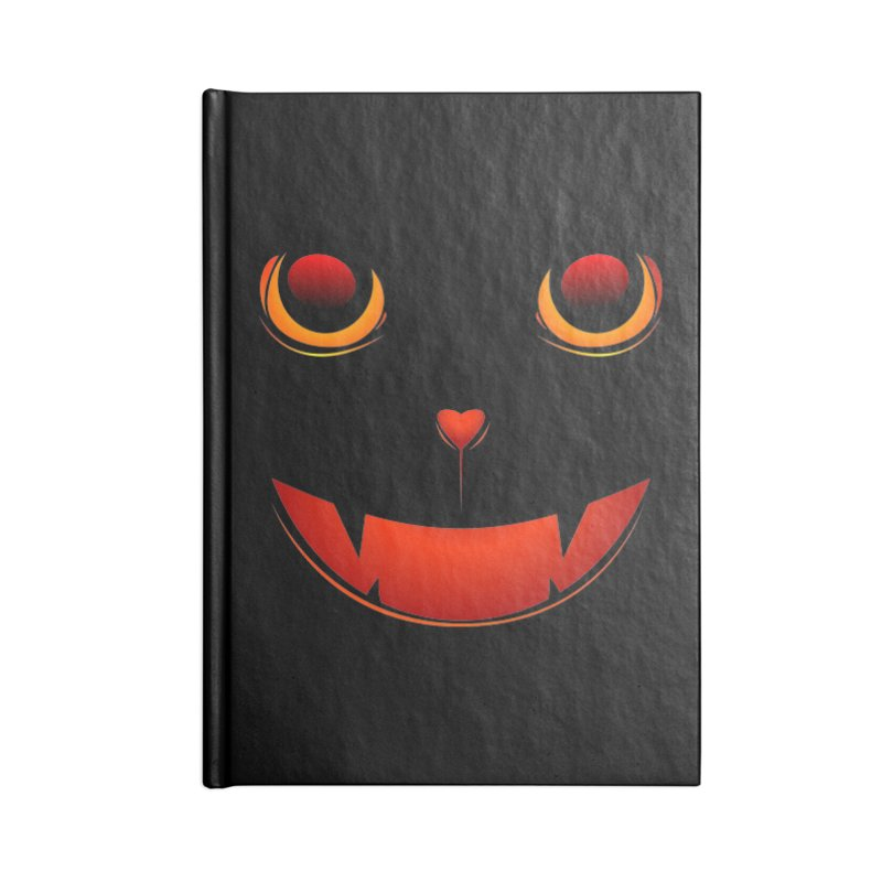 moster pumpkin Spice eater Accessories Blank Journal Notebook by SOE