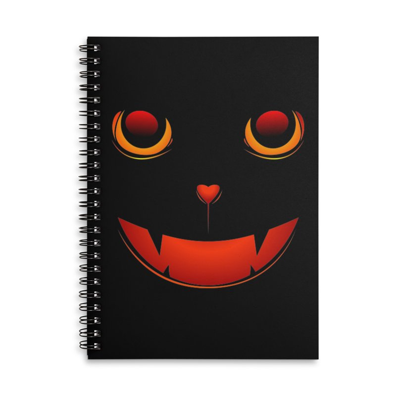 moster pumpkin Spice eater Accessories Lined Spiral Notebook by SOE