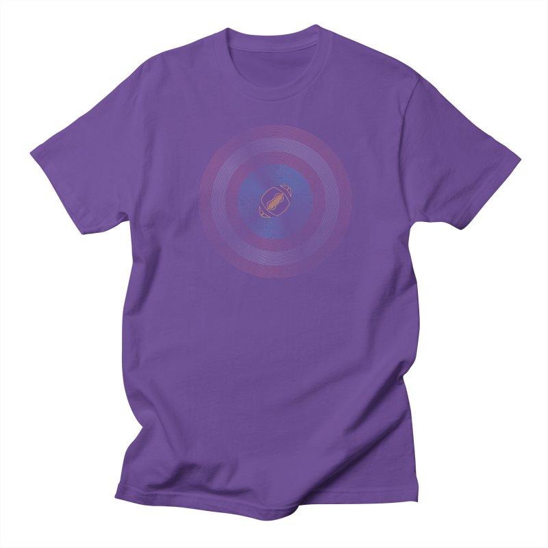 captain american football Men's Regular T-Shirt by SOE