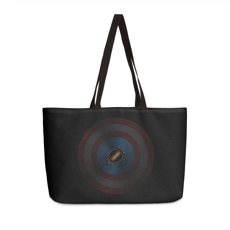 captain american football Accessories Weekender Bag Bag by SOE