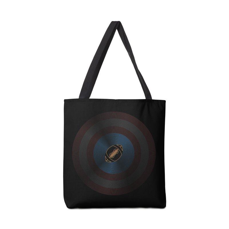 captain american football Accessories Tote Bag Bag by SOE