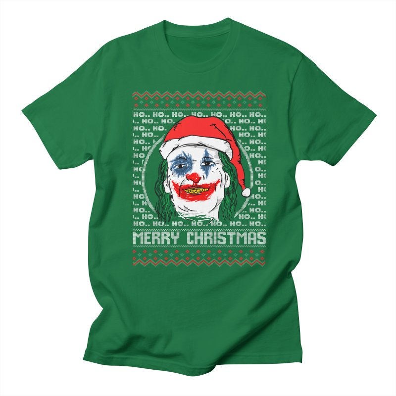 ho ho ho merry christmas ugly sweater joker Women's Regular Unisex T-Shirt by SOE