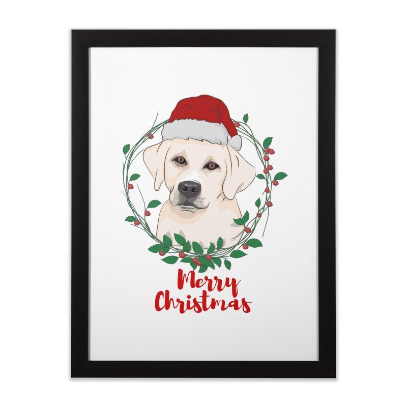 labrador dog merry christmas   by SOE