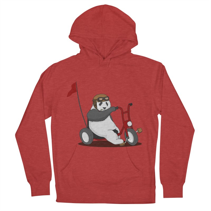 panda custom garage Men's French Terry Pullover Hoody by SOE