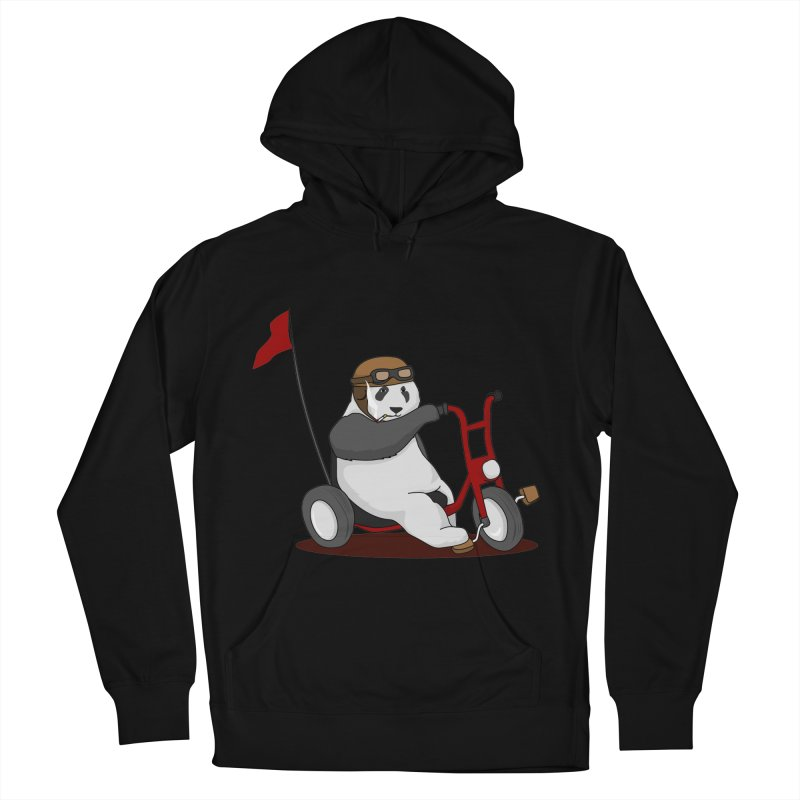 panda custom garage Men's French Terry Pullover Hoody by SOE