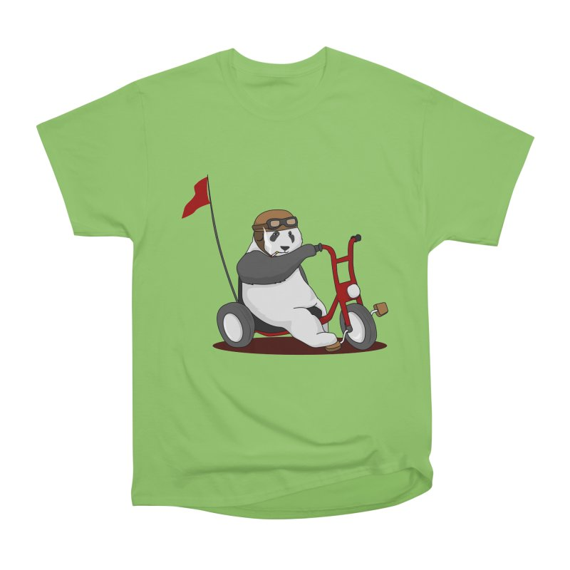 panda custom garage Men's Heavyweight T-Shirt by SOE