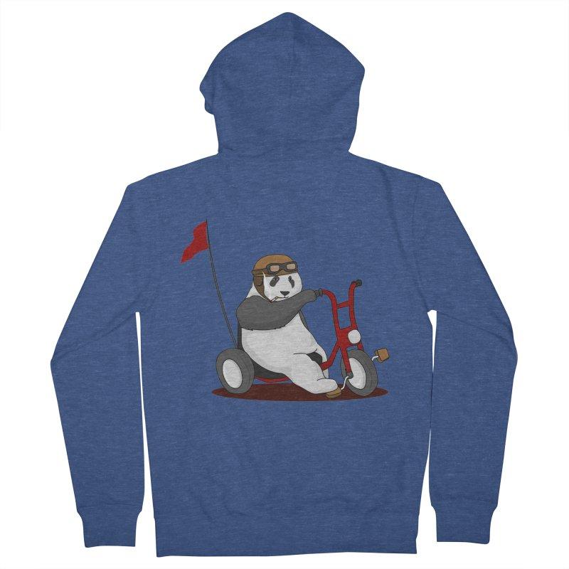 panda custom garage Men's Zip-Up Hoody by SOE
