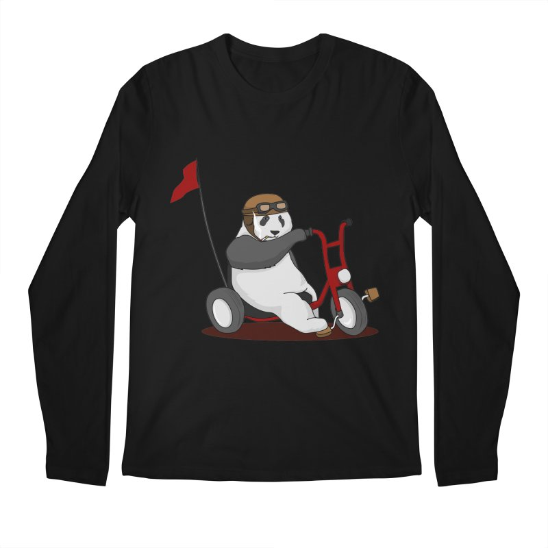 panda custom garage Men's Longsleeve T-Shirt by SOE