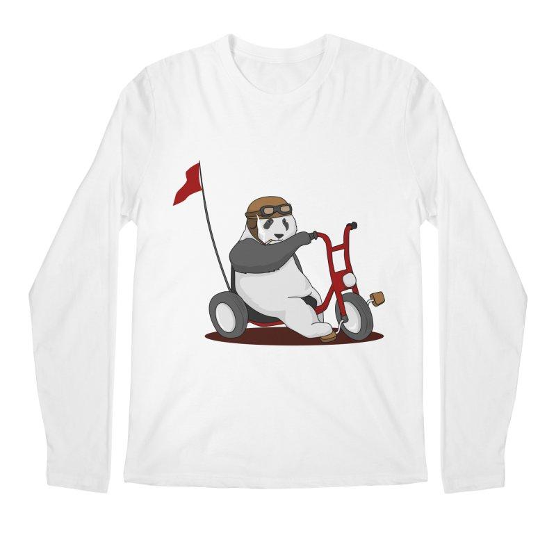 panda custom garage Men's Longsleeve T-Shirt by SOE