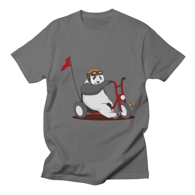 panda custom garage Men's T-Shirt by SOE